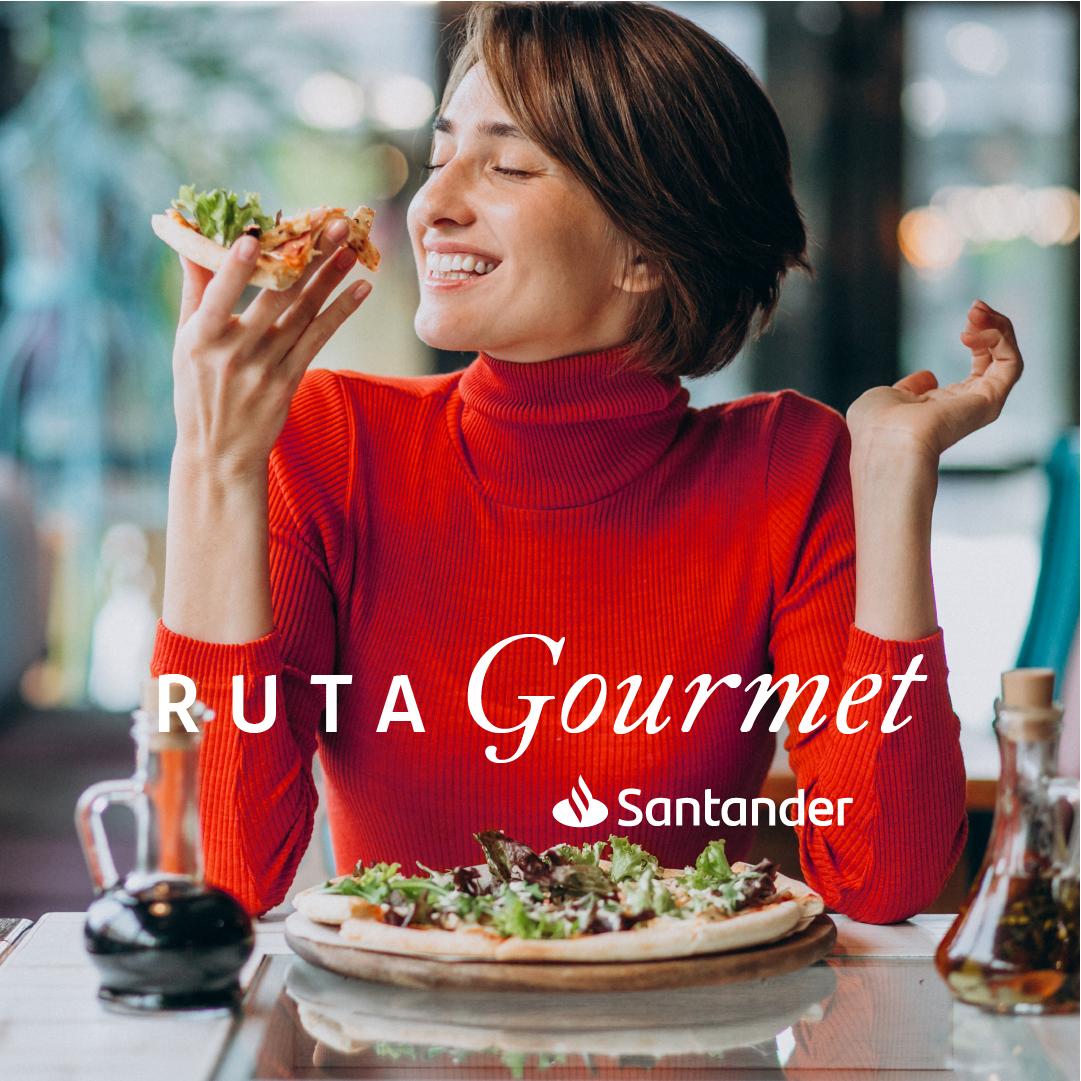 Santander invita a disfrutar su Ruta Gourmet con importantes beneficios