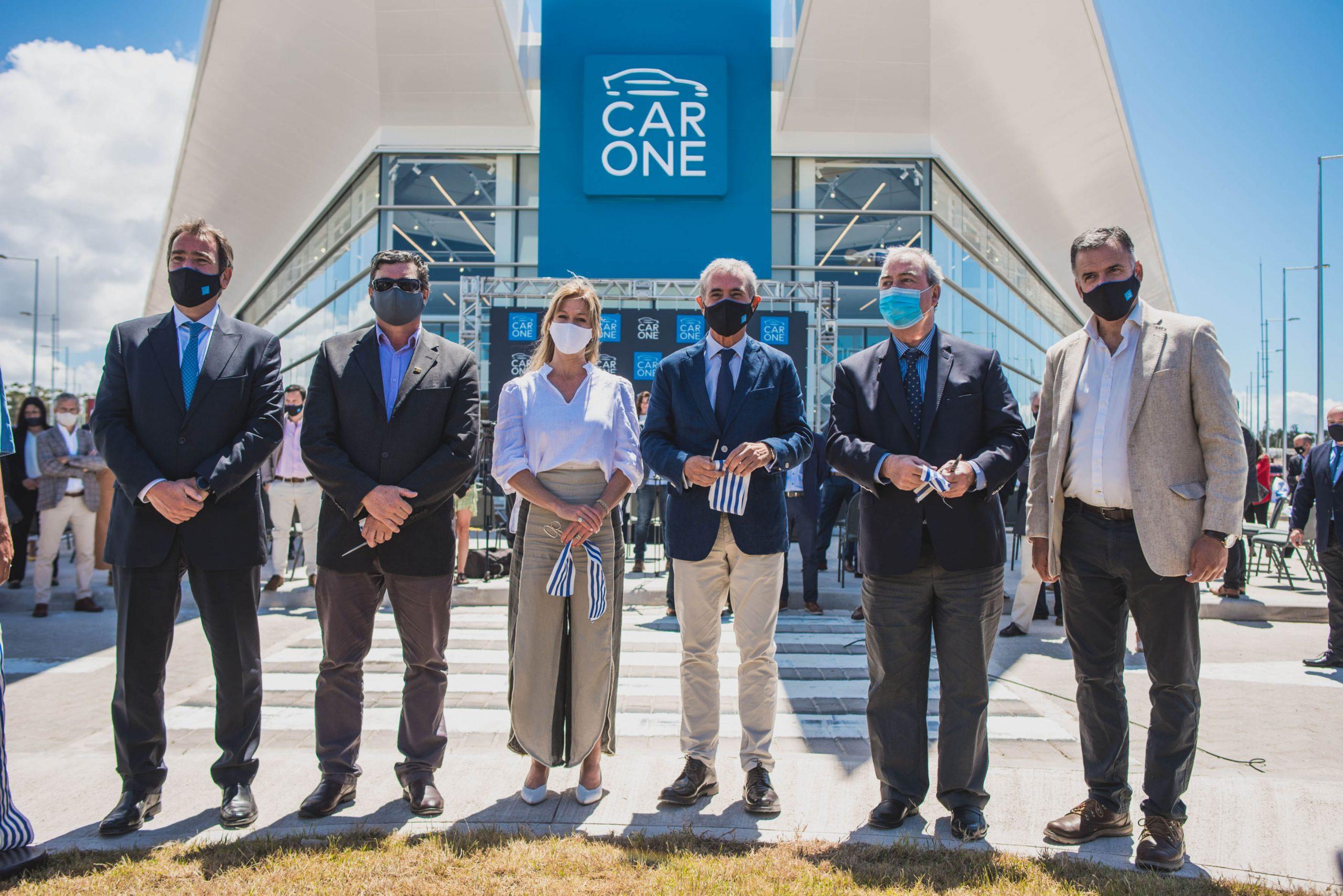 Car One celebró la inauguración de su primera etapa en el país