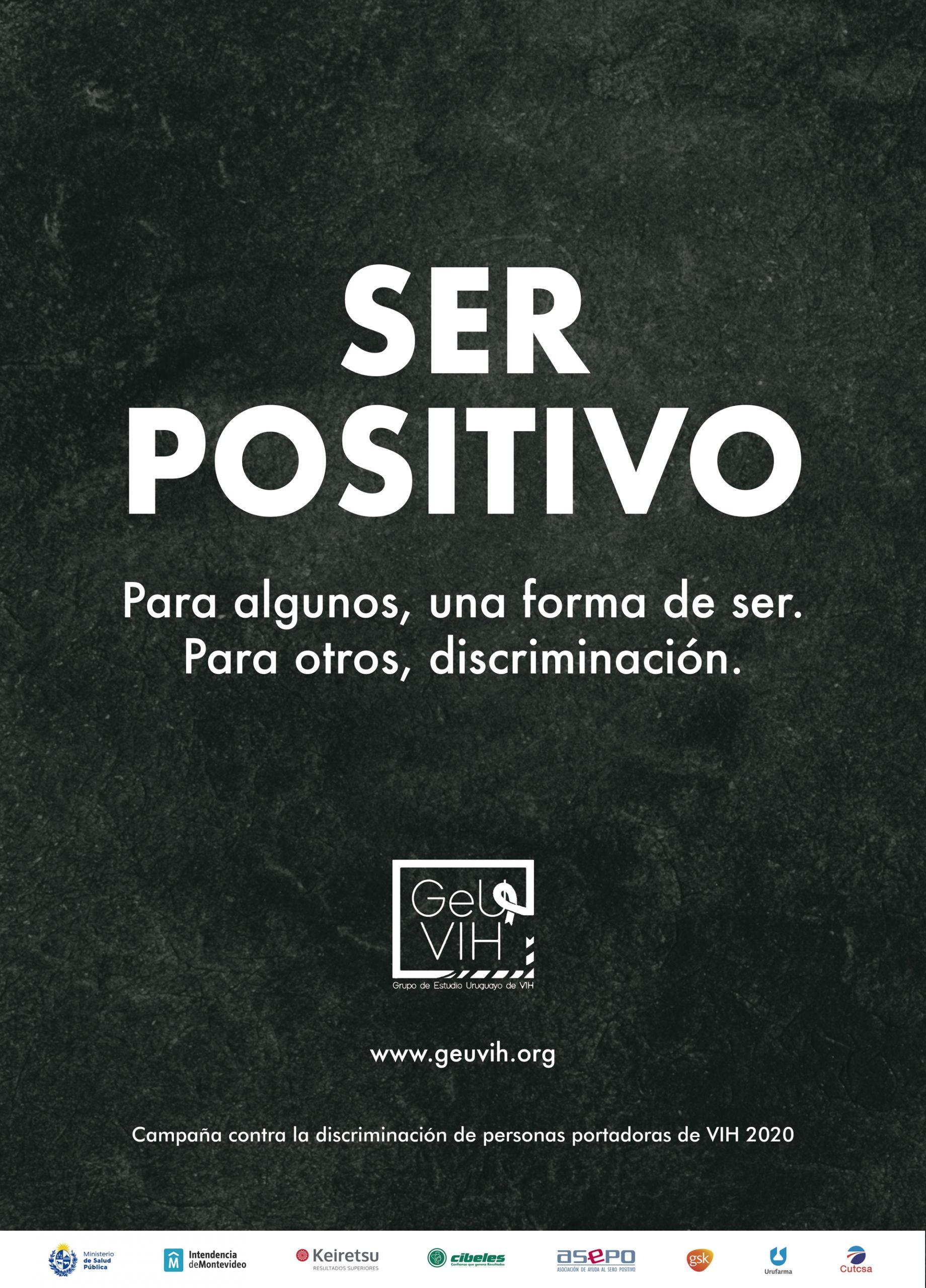 Grupo de Estudio Uruguayo de VIH lanza campaña contra la discriminación