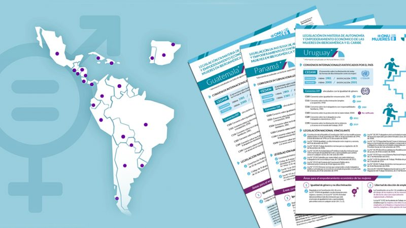 Estudio de SEGIB y ONU Mujeres destaca labor de Uruguay en seguridad social y sistema de cuidados, pero advierte desigualdad de género a nivel de remuneración