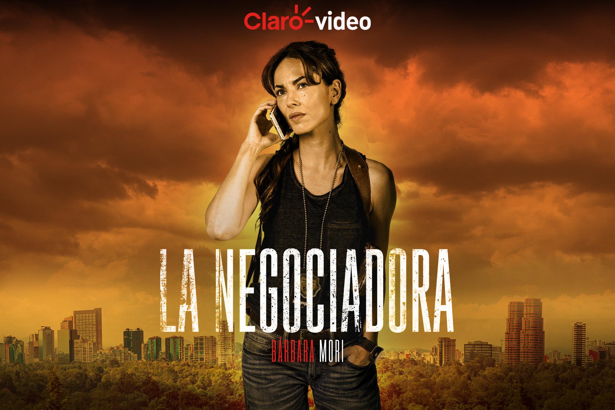 Claro video estrena serie protagonizada por la actriz uruguaya Bárbara Mori