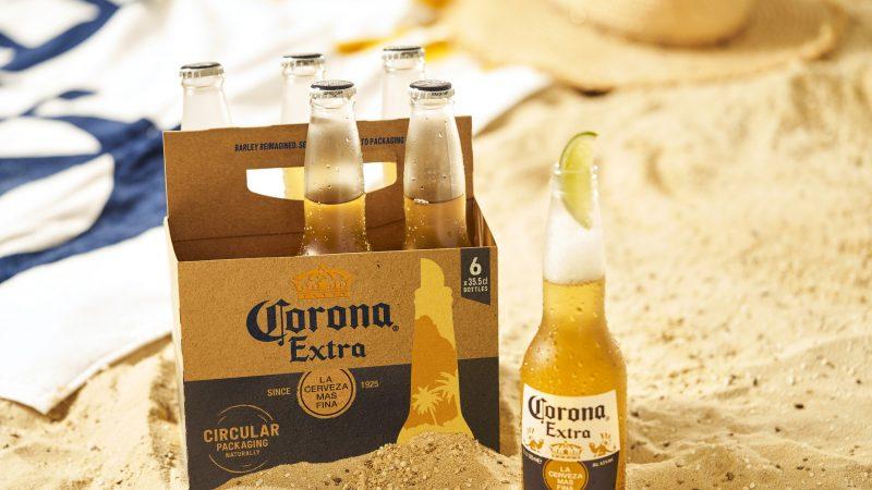 Corona hace historia al convertirse en la primera bebida global que alcanza la cero huella plástica neta