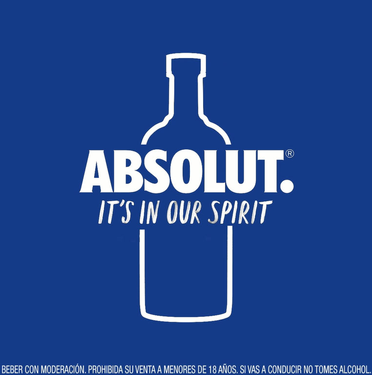 Absolut Vodka impulsa su campaña «Transparente, Nunca Invisible»