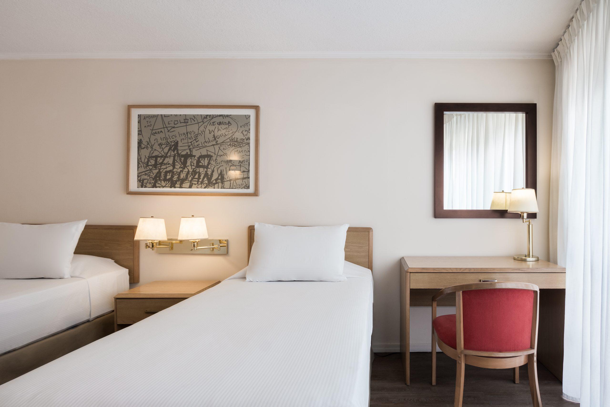 200 trabajadores de la salud se alojaron de forma gratuita en el hotel Days Inn Montevideo