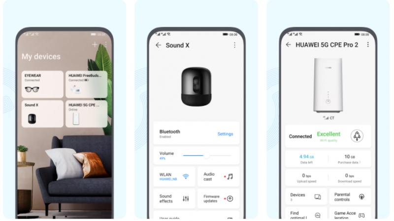La App HUAWEI AI Life te permite controlar todos tus dispositivos con un simple toque de la pantalla